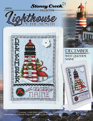 click here to view larger image of Lighthouse of the Month - December (chart)