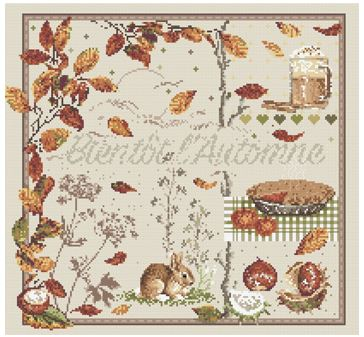 click here to view larger image of Bientot l'Automne (chart)