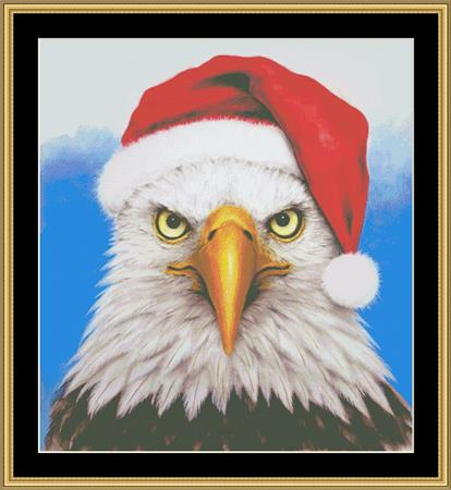click here to view larger image of Christmas Eagle (chart)