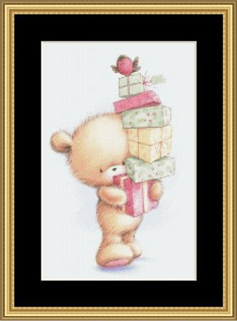 click here to view larger image of Baby Bear Christmas (chart)
