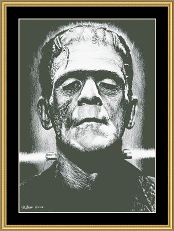 click here to view larger image of Boris Karloff (chart)