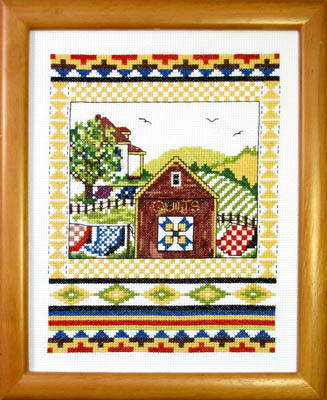 click here to view larger image of Country Quilting (chart)