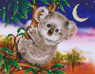 click here to view larger image of Koala Snack (Diamond Embroidery)