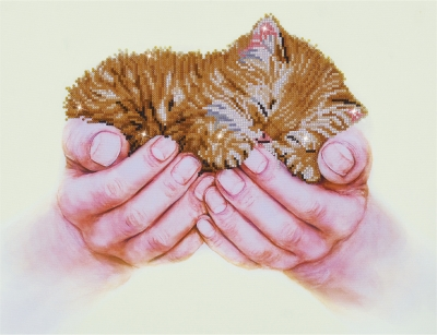 click here to view larger image of Precious Kitten (Diamond Embroidery)
