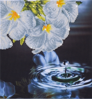 click here to view larger image of Water Droplets (Diamond Embroidery)