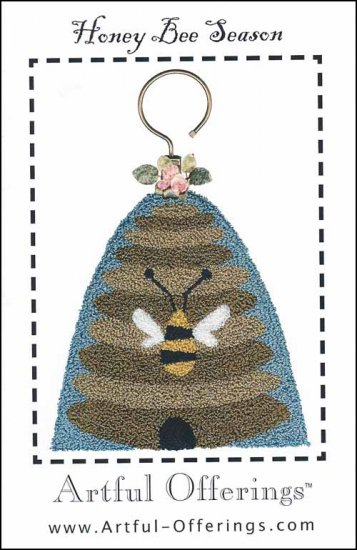 click here to view larger image of Honey Bee Season (Punchneedle) (Punchneedle)