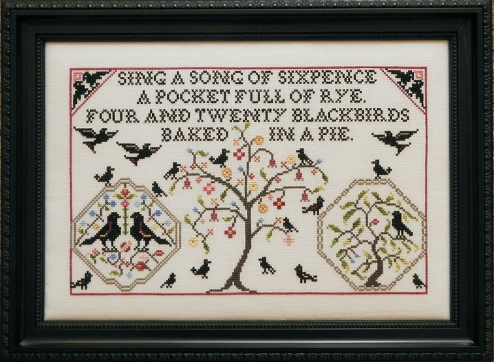 click here to view larger image of Four and Twenty Blackbirds (chart)