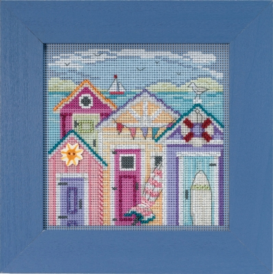 click here to view larger image of Cabana Beach (2018) (counted cross stitch kit)