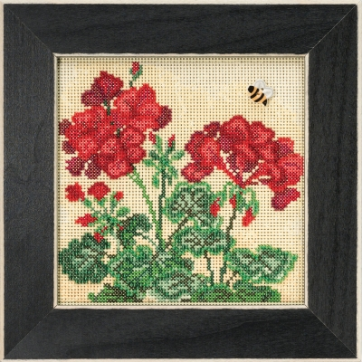click here to view larger image of Geranium (2018) (counted cross stitch kit)