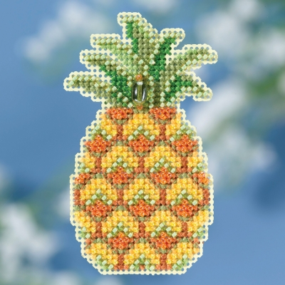 click here to view larger image of Pineapple (2018) - Spring Bouquet (counted cross stitch kit)