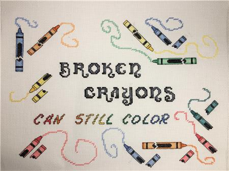 click here to view larger image of Broken Crayons (chart)