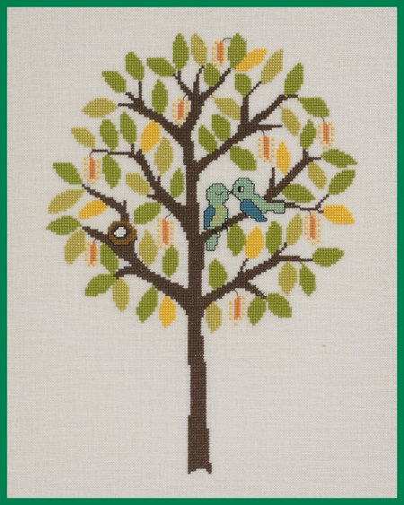 click here to view larger image of Spring (counted cross stitch kit)