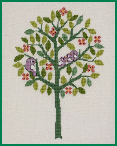 click here to view larger image of Summer (counted cross stitch kit)