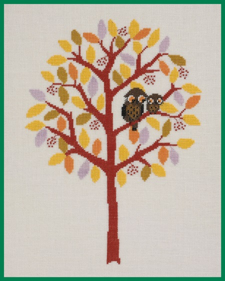 click here to view larger image of Fall (counted cross stitch kit)
