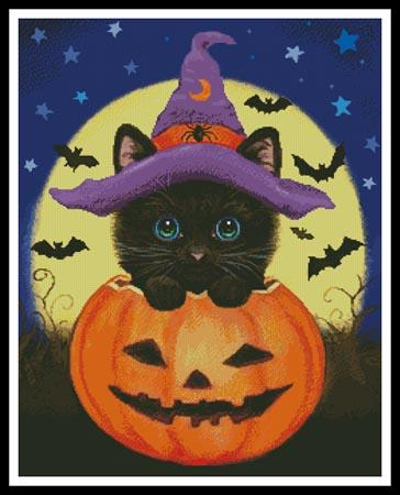 click here to view larger image of Halloween Kitty (chart)