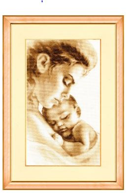 click here to view larger image of Tenderness (counted cross stitch kit)