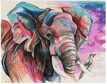 click here to view larger image of Elephant (Katy Lipscomb) (chart)