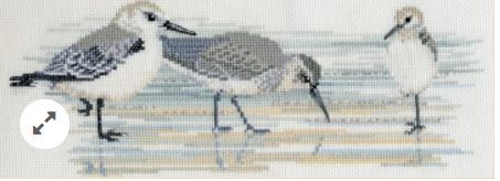 click here to view larger image of Waders (counted cross stitch kit)
