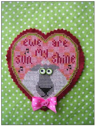 click here to view larger image of Ewe Are My Sunshine - Kit (counted cross stitch kit)