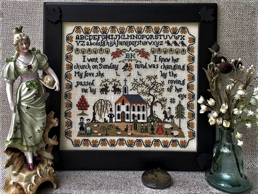 click here to view larger image of I Went To The Church Sampler (chart)