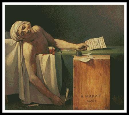 click here to view larger image of Death of Marat, The (chart)