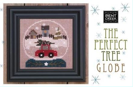 click here to view larger image of Perfect Tree, The - Snow Globe (counted cross stitch kit)