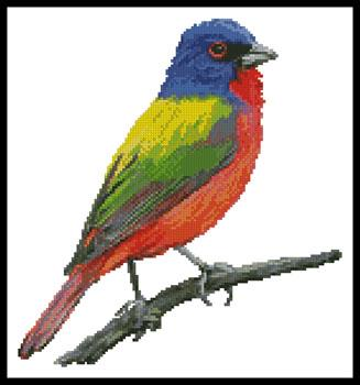 click here to view larger image of Painted Bunting (chart)