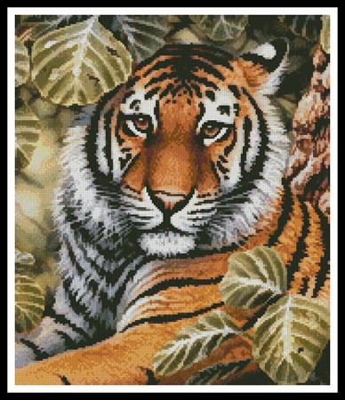 click here to view larger image of Jungle Tiger (Crop) (chart)