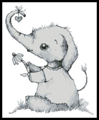 click here to view larger image of Little Daisy Elephant (chart)