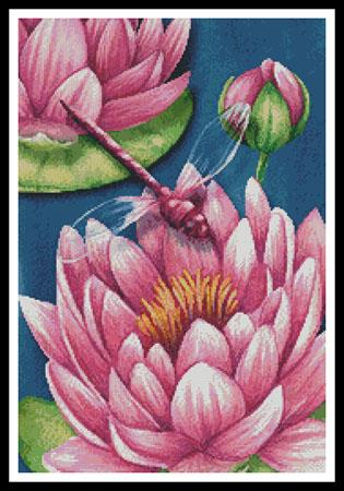 click here to view larger image of Pink Waterlilies (chart)