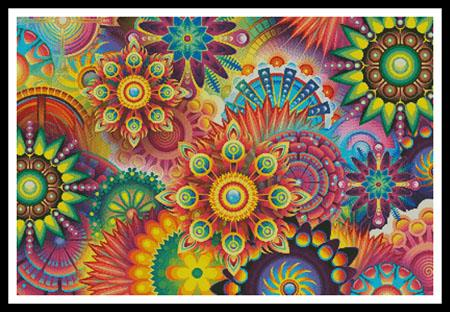 click here to view larger image of Colourful Abstract (chart)