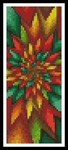 click here to view larger image of Christmas Fractal Bookmark (chart)