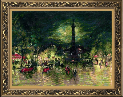 click here to view larger image of Bastille - After K. Korovins Painting (counted cross stitch kit)