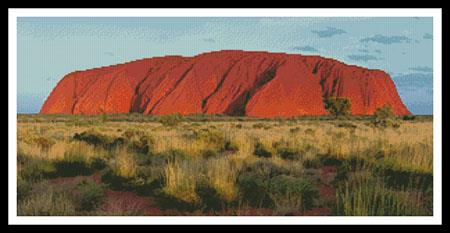 click here to view larger image of Ayers Rock (Uluru) (chart)