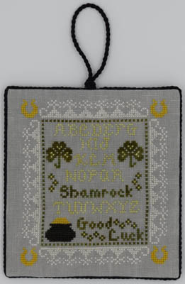 Tiny Shamrock Sampler - click here for more details about chart
