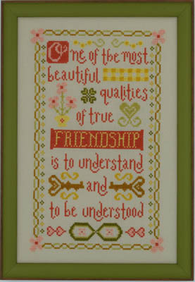 click here to view larger image of Friendship (chart)