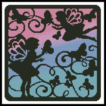 click here to view larger image of Fairy Silhouette Square 5 (chart)