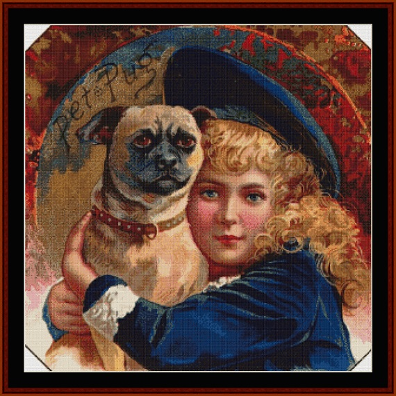 click here to view larger image of Buster Brown - Vintage Art (chart)