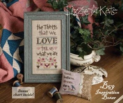 click here to view larger image of Things That we Love, The (counted cross stitch kit)