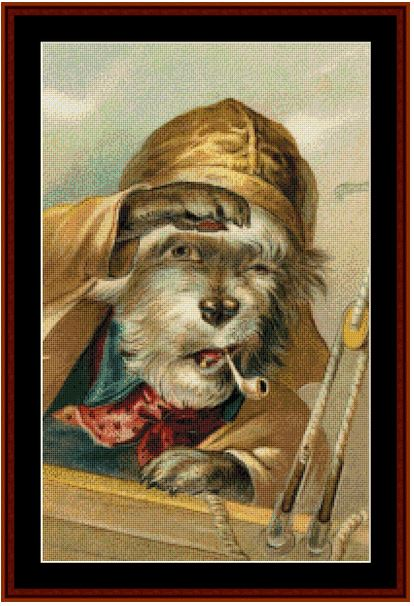 click here to view larger image of Ahoy! - Vintage Art (chart)