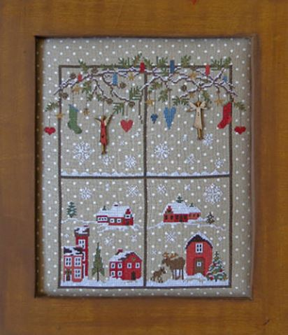 click here to view larger image of Christmas Window 2 (chart)