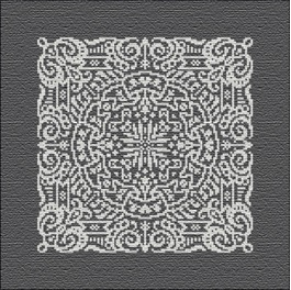 click here to view larger image of Chalkboard Mandala (chart)