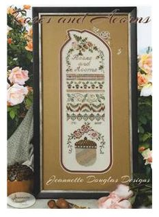 click here to view larger image of Roses and Acorns Sampler (chart)