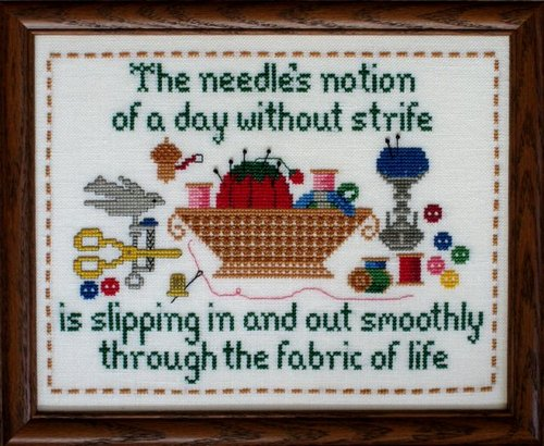 click here to view larger image of Needles Notion Sampler (chart)