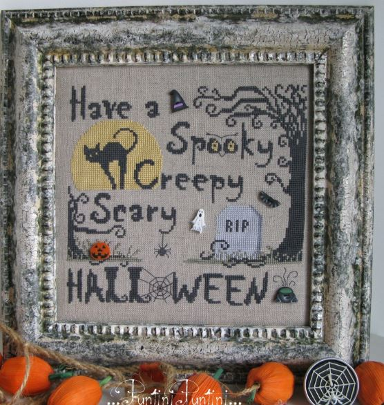 click here to view larger image of Halloween Special (Includes buttons) (chart)