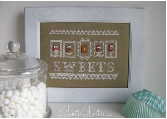 click here to view larger image of  Sweets (Includes buttons) (chart)