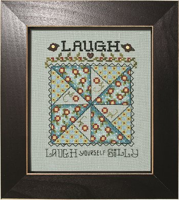 click here to view larger image of Quilted With Love - Laugh (chart)