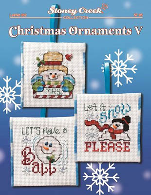 click here to view larger image of Christmas Ornaments V (chart)