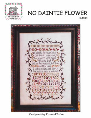click here to view larger image of No Daintie Flower (chart)