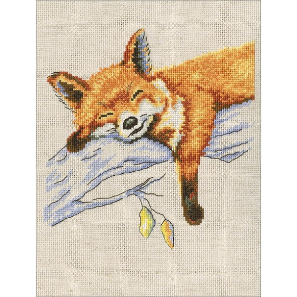 click here to view larger image of Autumn Dream (counted cross stitch kit)